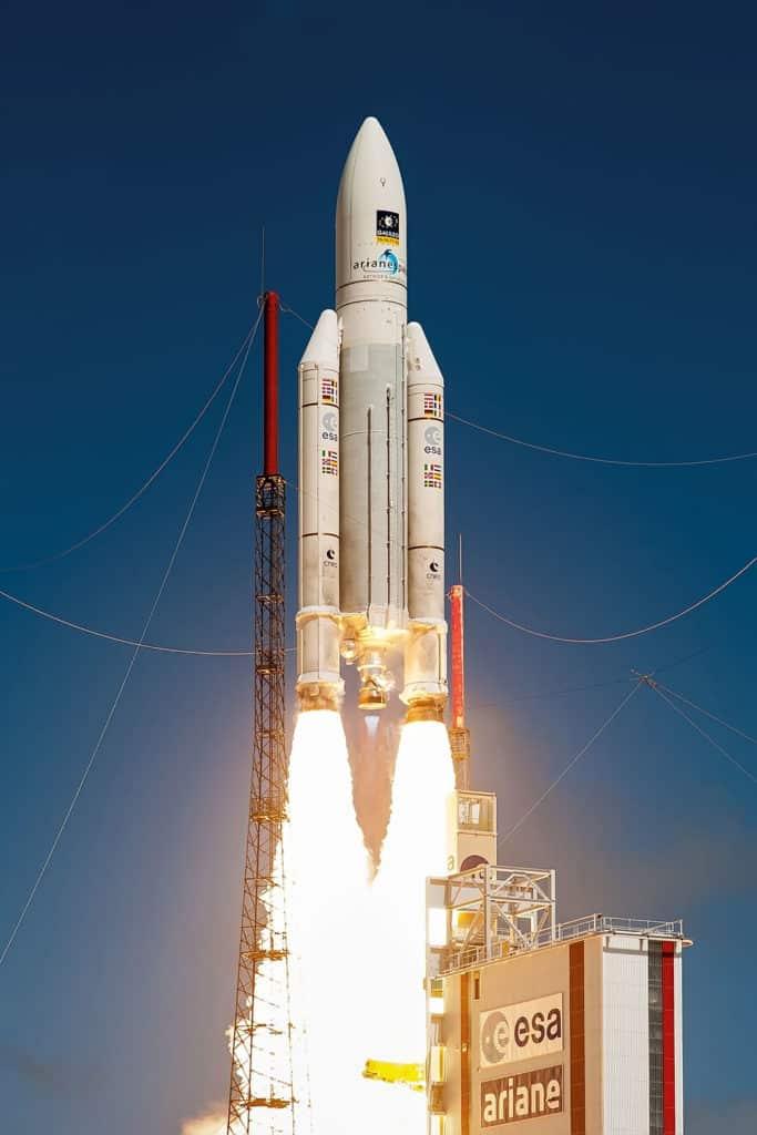 avantages classe prépa : décollage fusée Ariane